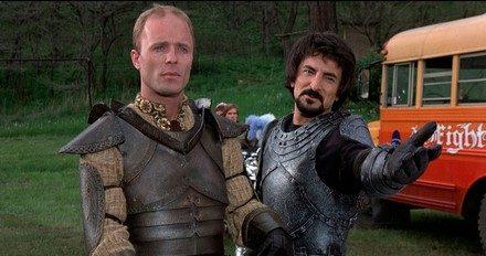 Knightriders : chevaliers d'un autre temps